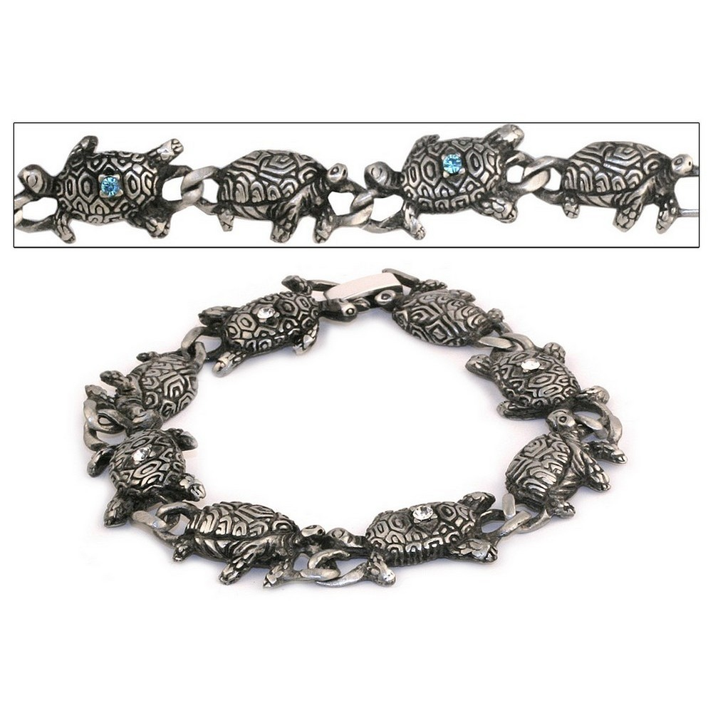 Bracelet Link Turtle Made With Zinc Alloy by JOE COOL
