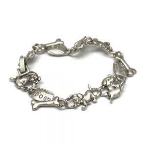 Bracelet Puppy And Bone Made With Tin Alloy by JOE COOL