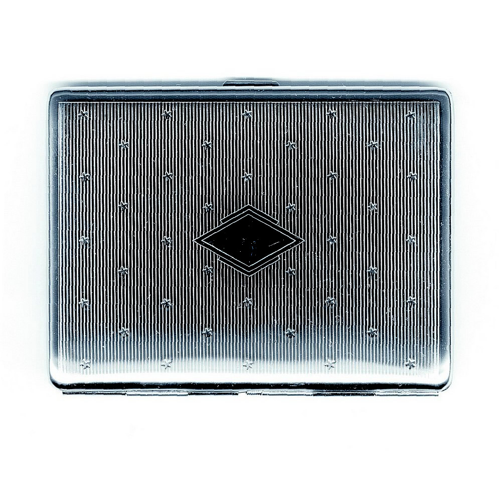 Folding Wallet Case Credit Card Diamond/stars Made With Iron by JOE COOL
