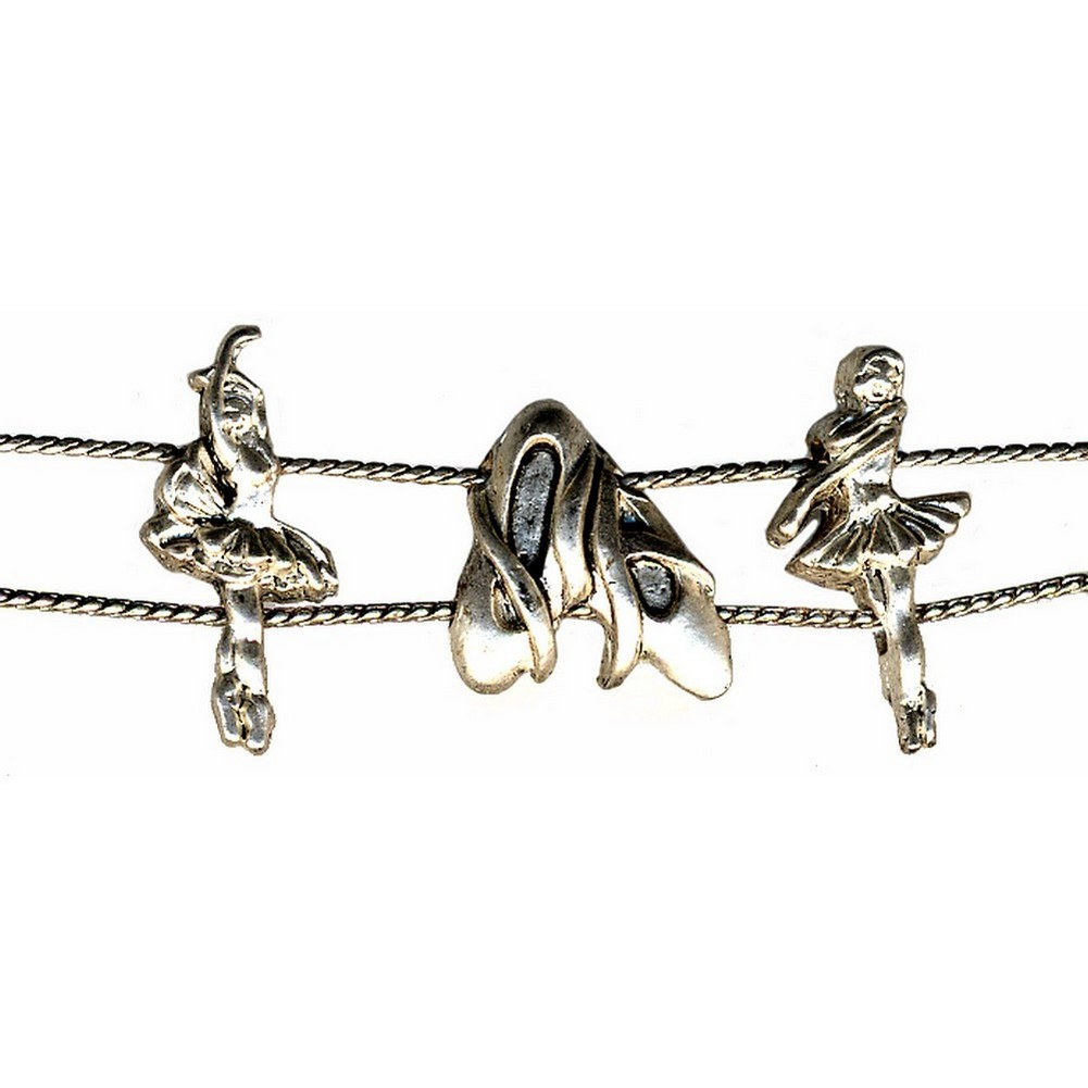 Bracelet Kid Slide Ballet Shoes Made With Tin Alloy by JOE COOL