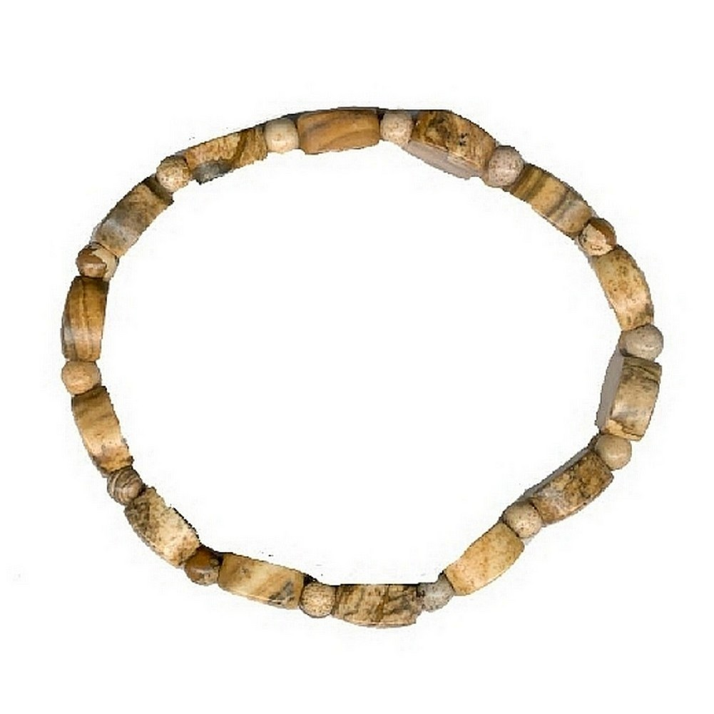 Bracelet Picture Jasper Stretch Made With Gem Stone by JOE COOL
