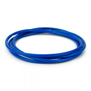 Bracelet Pack Of 4 Dark Blue Gummys Made With Silicon & Rubber by JOE COOL
