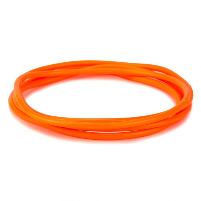 Bracelet Pack Of 4 Orange Made With Gummy & Rubber by JOE COOL
