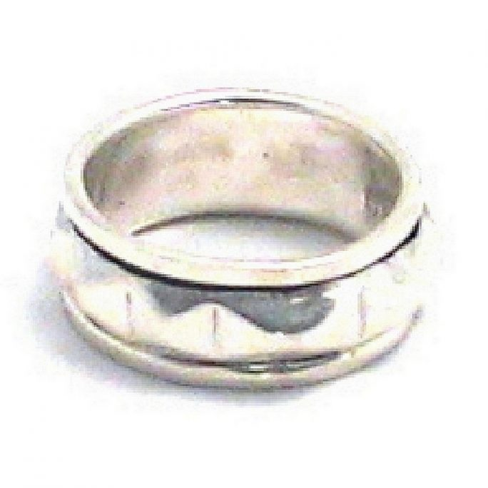 Ring Spinning Centre Made With 925 Silver by JOE COOL