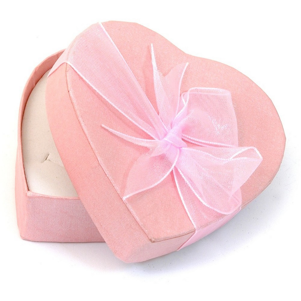 Gift Packaging 80x78x26mm Heart Shaped Box Made With Cardboard by JOE COOL