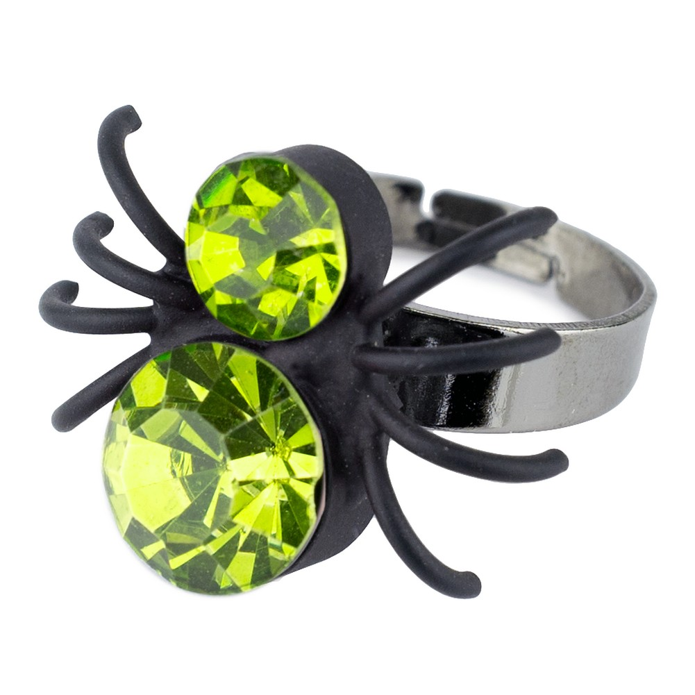 Ring Big Spider Made With Crystal Glass by JOE COOL