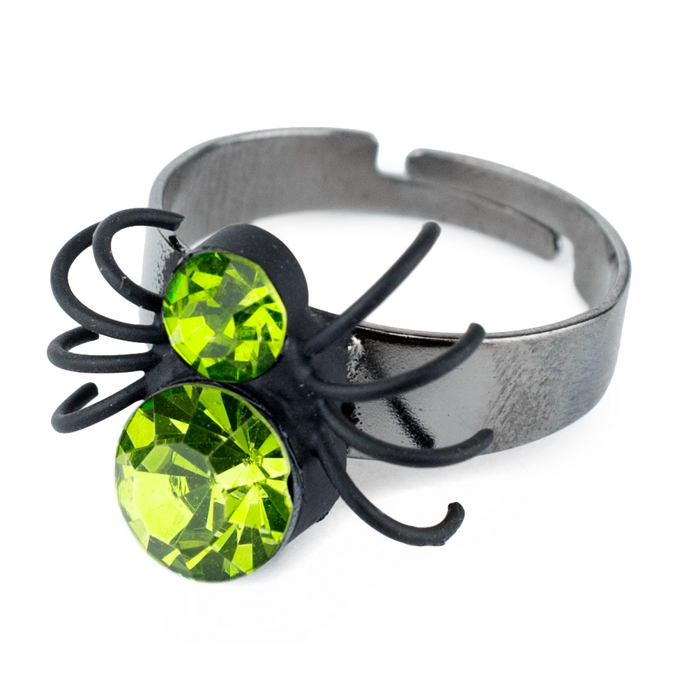 Ring Spider Made With Crystal Glass by JOE COOL