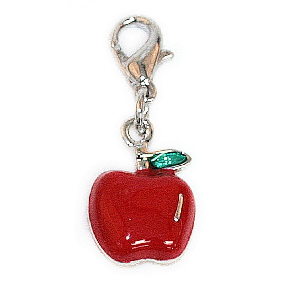 Charm Apple Made With Enamel by JOE COOL
