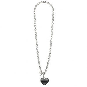 Necklace Chain With Heart 45cm Made With Zinc Alloy by JOE COOL
