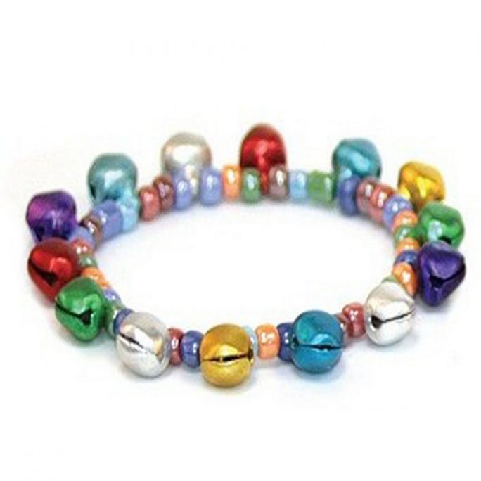 Bracelet Bells Elasticated Made With Tin Alloy & Elastic by JOE COOL