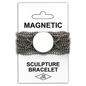 Bracelet Chain Sculpture Made With Magnetic & Zinc Alloy by JOE COOL