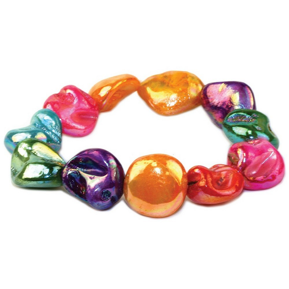 Bracelet Sugar Lustre Nugget 18cm Made With Shell by JOE COOL
