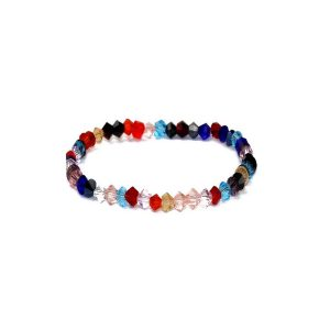 Bracelet Made With Crystal Glass by JOE COOL