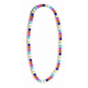 Bead String Necklace Magic Beads Elasticated Made With Resin by JOE COOL