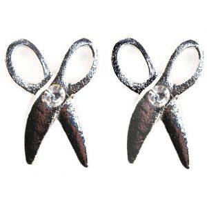 Stud Earring Scissors Made With Zinc Alloy by JOE COOL