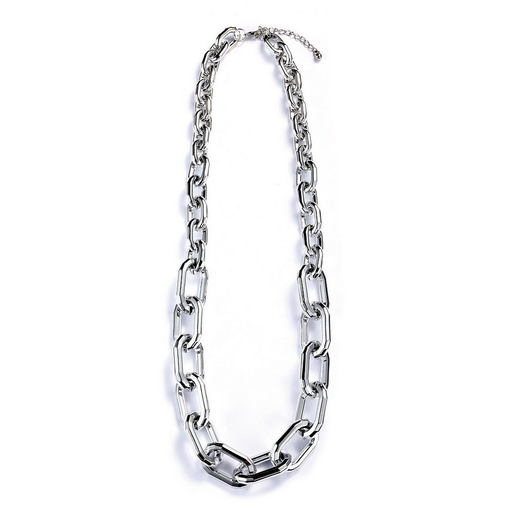 Necklace Chain Chain Squared Link 66cm+5cm Extension Made With Resin & Metallic by JOE COOL