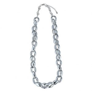Necklace Chain Chain Oval Link 66cm+5cm Made With Resin & Metallic by JOE COOL