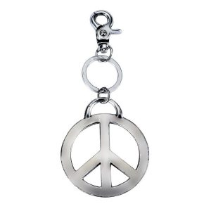 Keyring Peace 16cm Antique Finish Made With Zinc Alloy & Tin Plate by JOE COOL