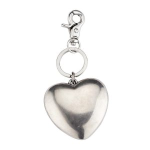 Keyring Heart Antique Finish Made With Zinc Alloy & Tin Plate by JOE COOL