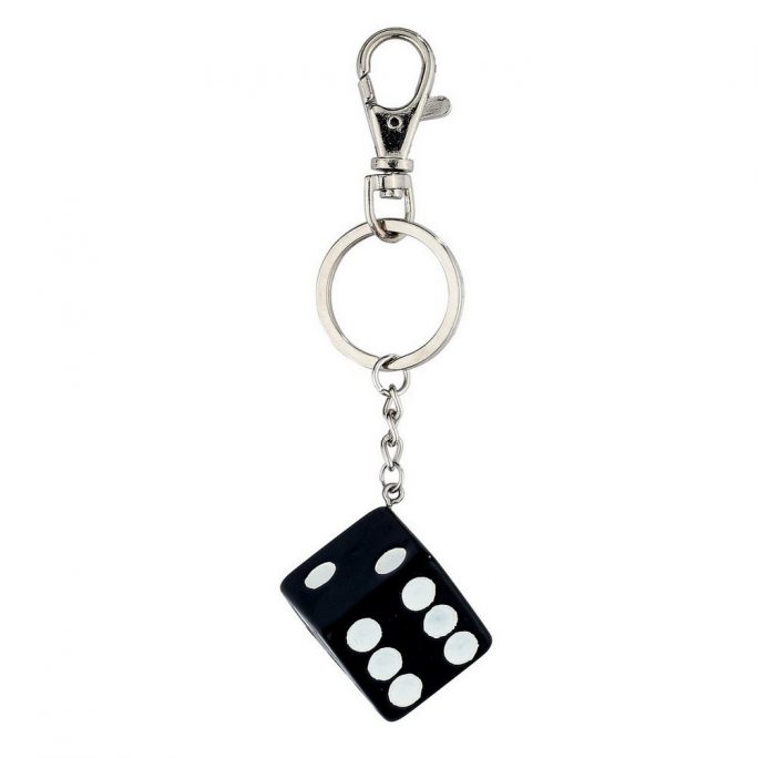 Keyring Lucky Dice Made With Resin by JOE COOL