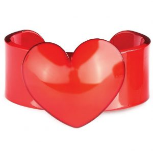 Bangle Heart 30mm Made With Acrylic by JOE COOL