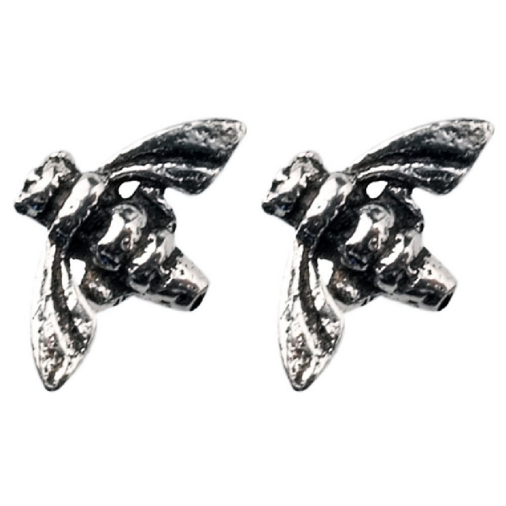 Stud Earring Assorted Small Designs Bumblebee Made With 925 Silver by JOE COOL