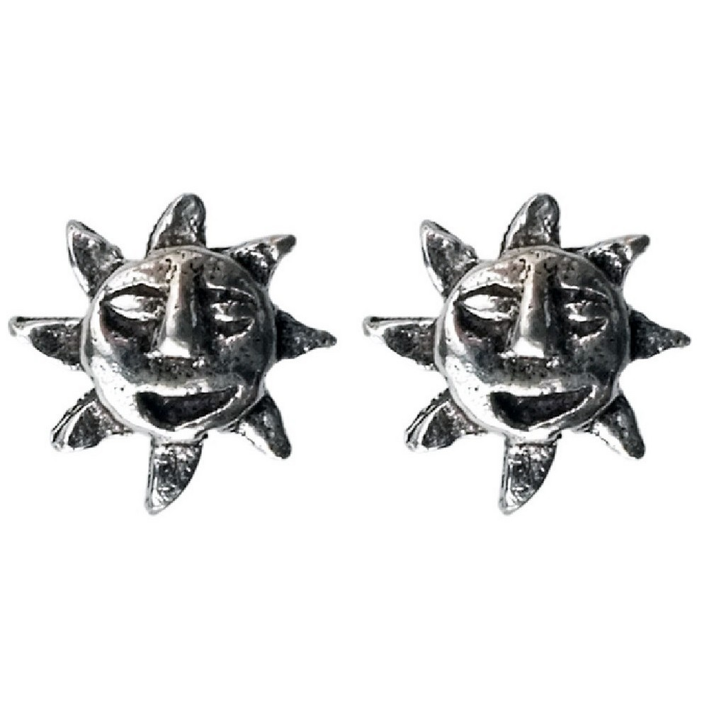 Stud Earring Assorted Small Designs Sun Made With 925 Silver by JOE COOL