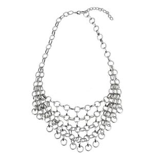Necklace Chain Chain Mail Made With Tin Plate by JOE COOL