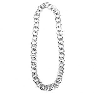 Necklace Chain 75cm Chunky Chain Made With Tin Plate by JOE COOL