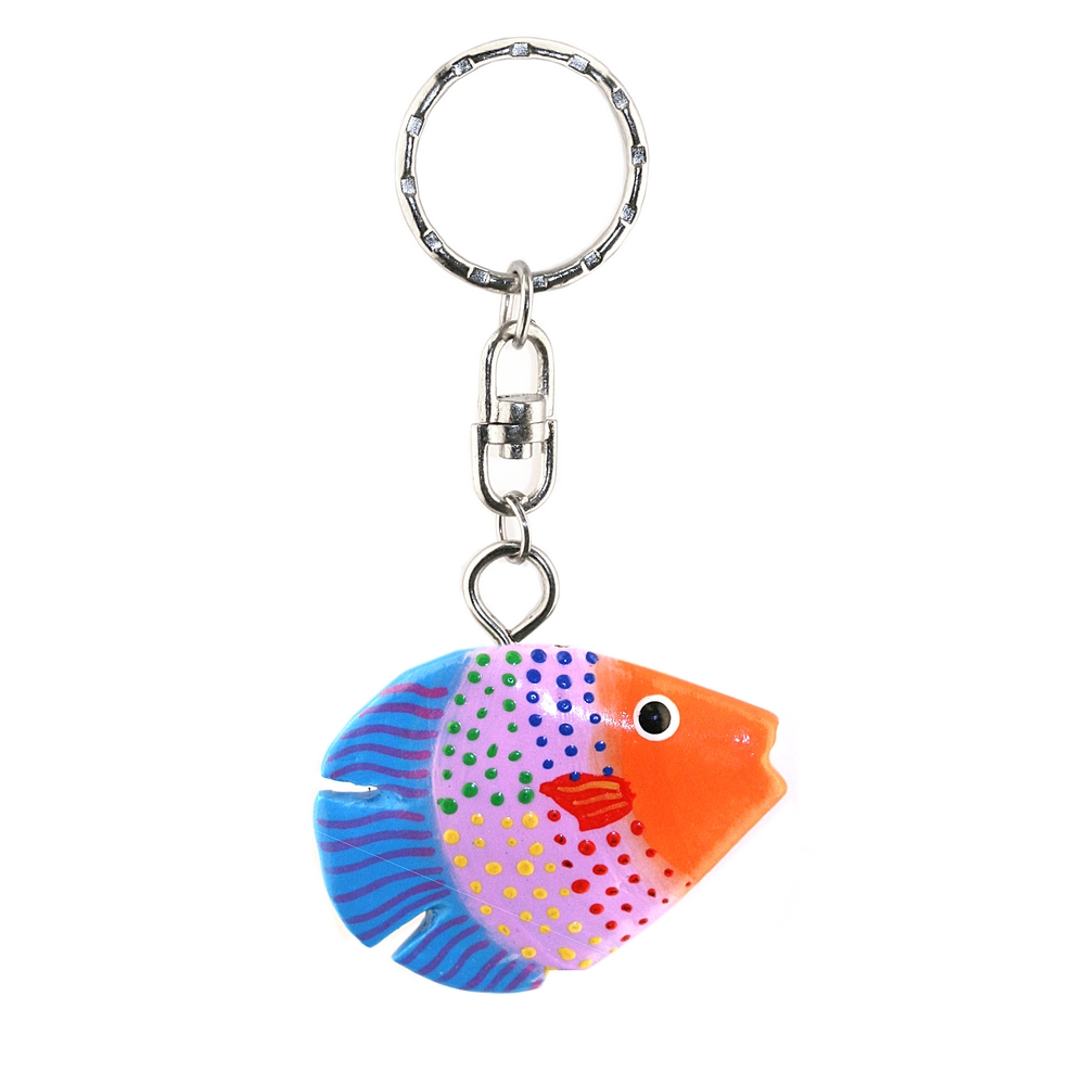 Keyring Fish Made With Wood by JOE COOL