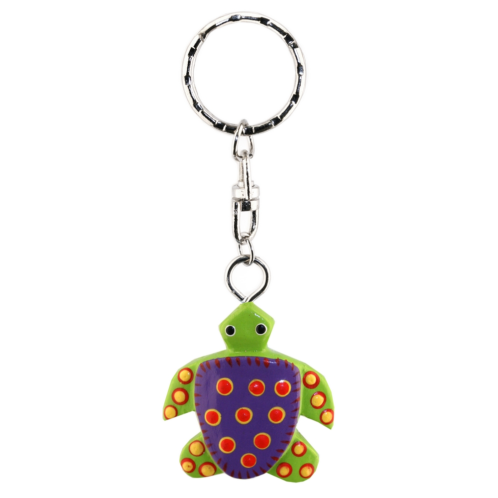 Keyring Turtle Made With Wood by JOE COOL