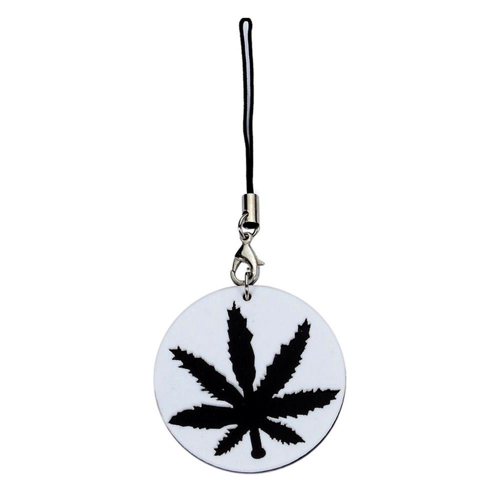 Phone Charm Canabis Leaf Made With Acrylic by JOE COOL