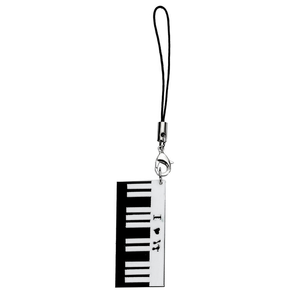 Phone Charm Musical Keyboard Made With Acrylic by JOE COOL
