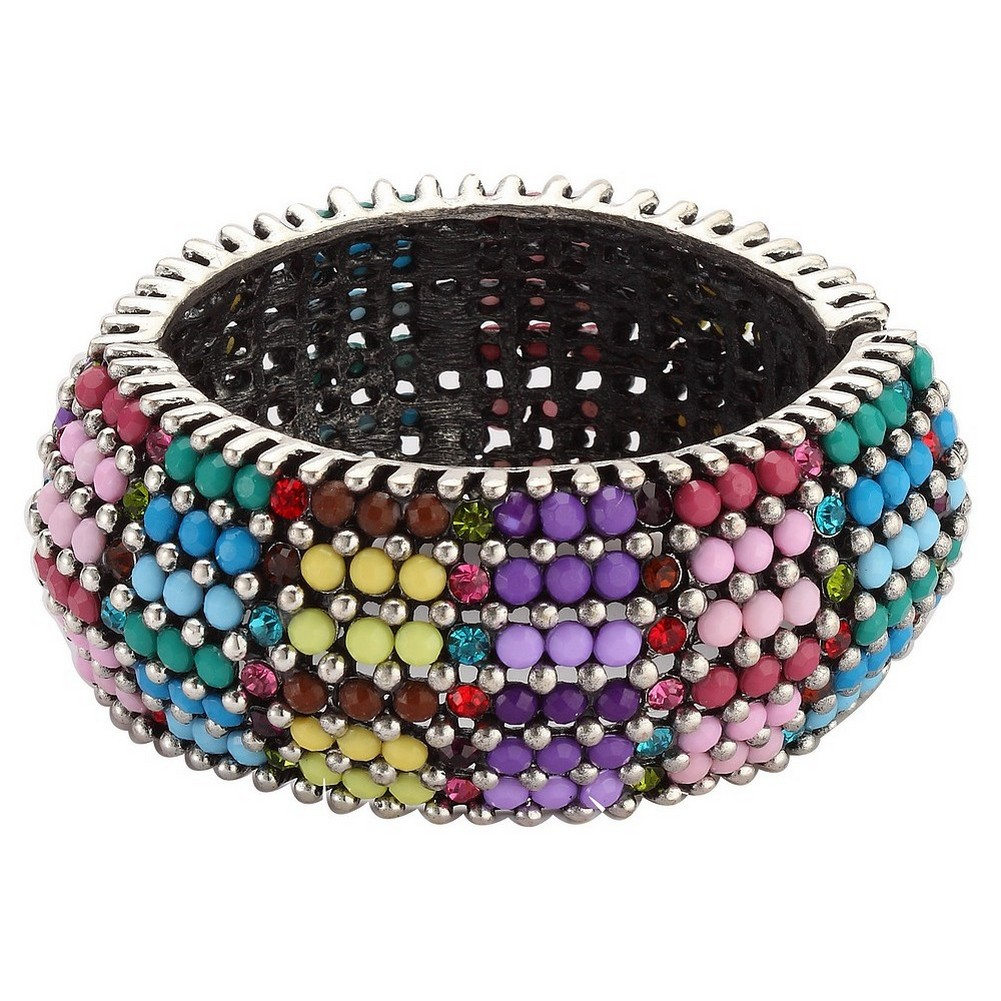 Bracelet Rainbow Effect 35mm Made With Tin Alloy & Crystal Glass by JOE COOL