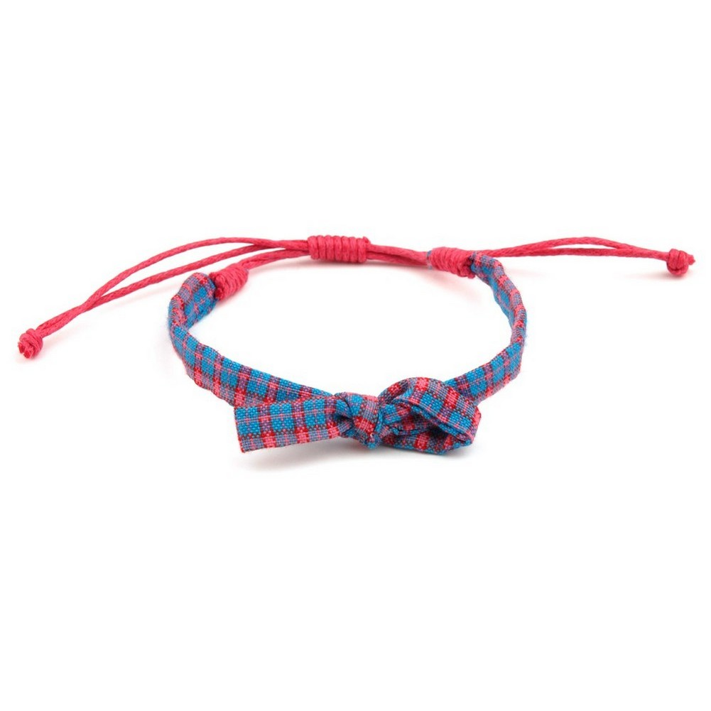 Bracelet Tartan Made With Cotton by JOE COOL