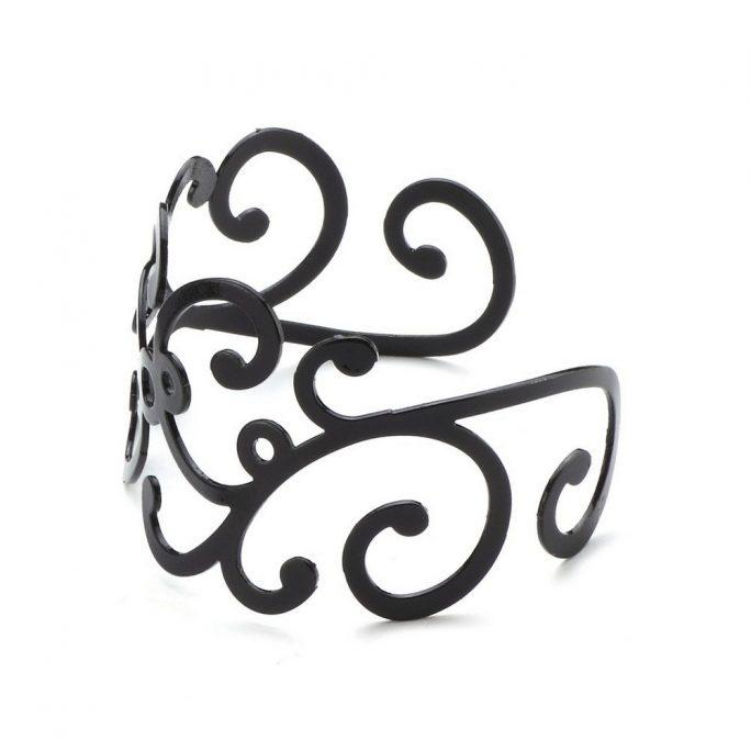 Bangle Swirls Made With Iron by JOE COOL