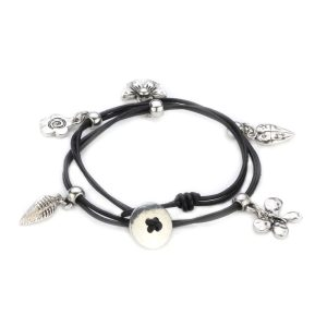 Wrap Bracelet Dainty Charms Made With Pu & Tin Alloy by JOE COOL