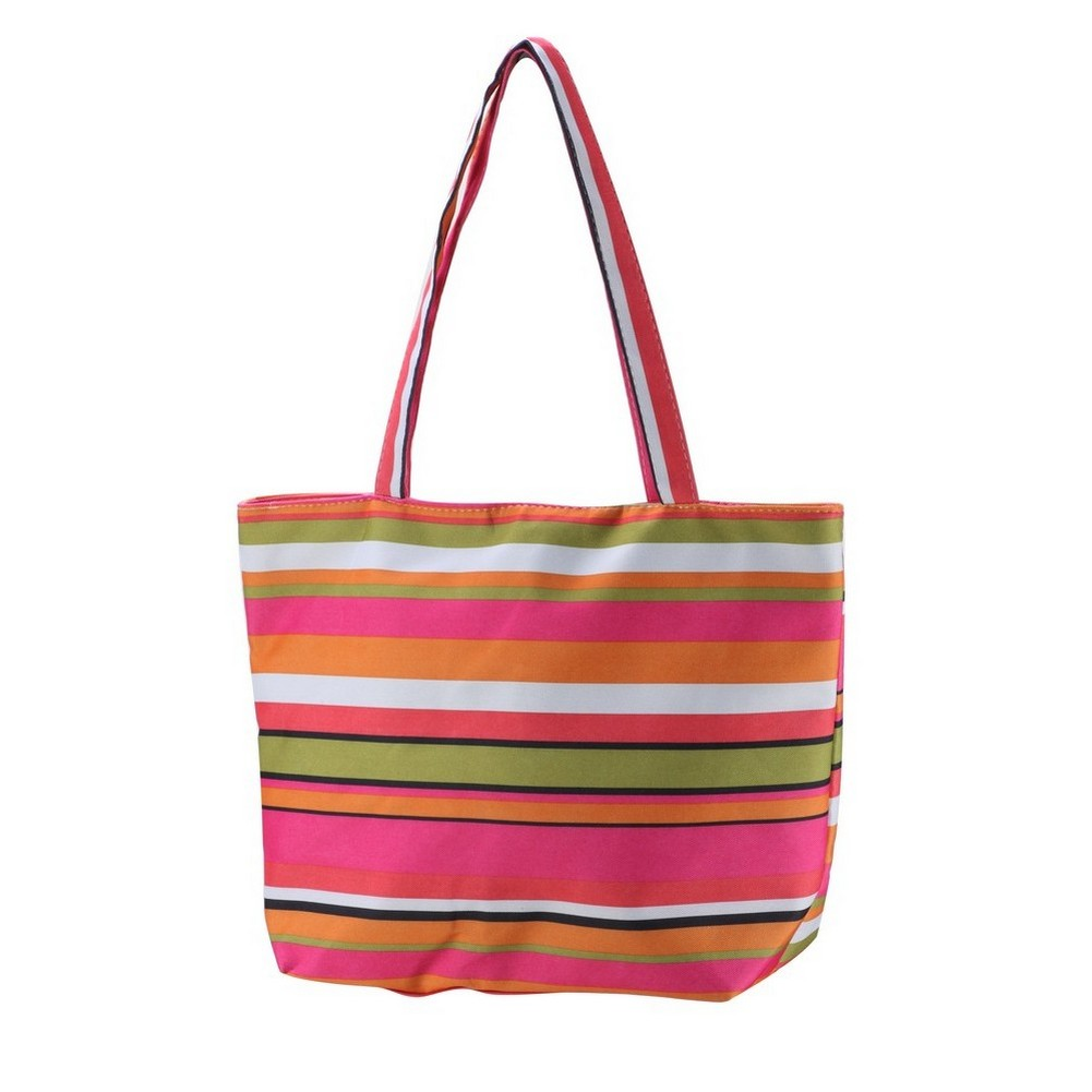 Shopper Bag Stripes 45x32x12cm Made With Cotton by JOE COOL
