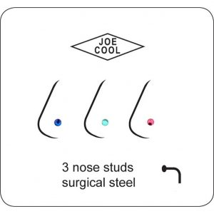 Nose Stud Crystal Made With Surgical Steel by JOE COOL