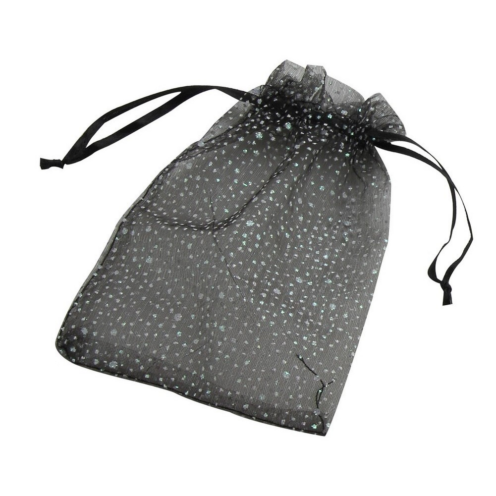 Gift Packaging Voile Bag With Glitter Flecks Made With Polyester by JOE COOL