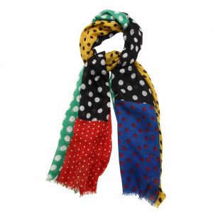 Scarf Gypsy Polka Made With Polyester by JOE COOL