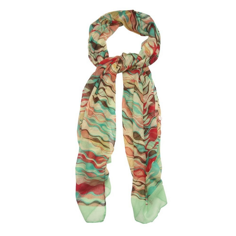Scarf Ripple Made With Polyester by JOE COOL