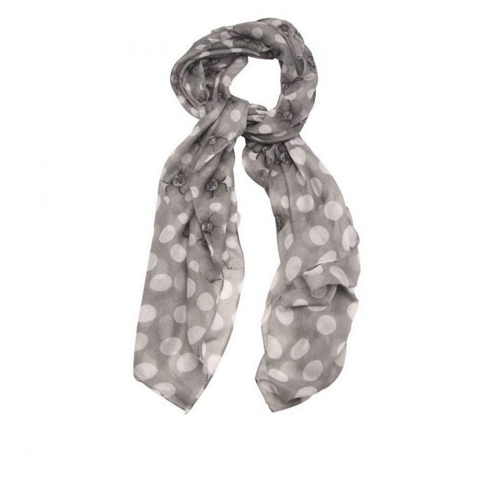 Scarf Petal Polka Made With Polyester by JOE COOL