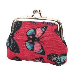Coin Purse Butterfly Made With Pu & Iron by JOE COOL