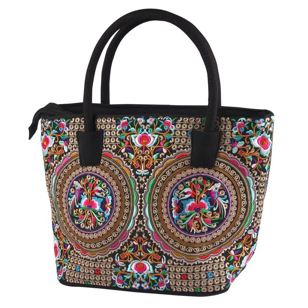 Shopper Bag Exotic Rich Embroidered Large Made With Polyester by JOE COOL