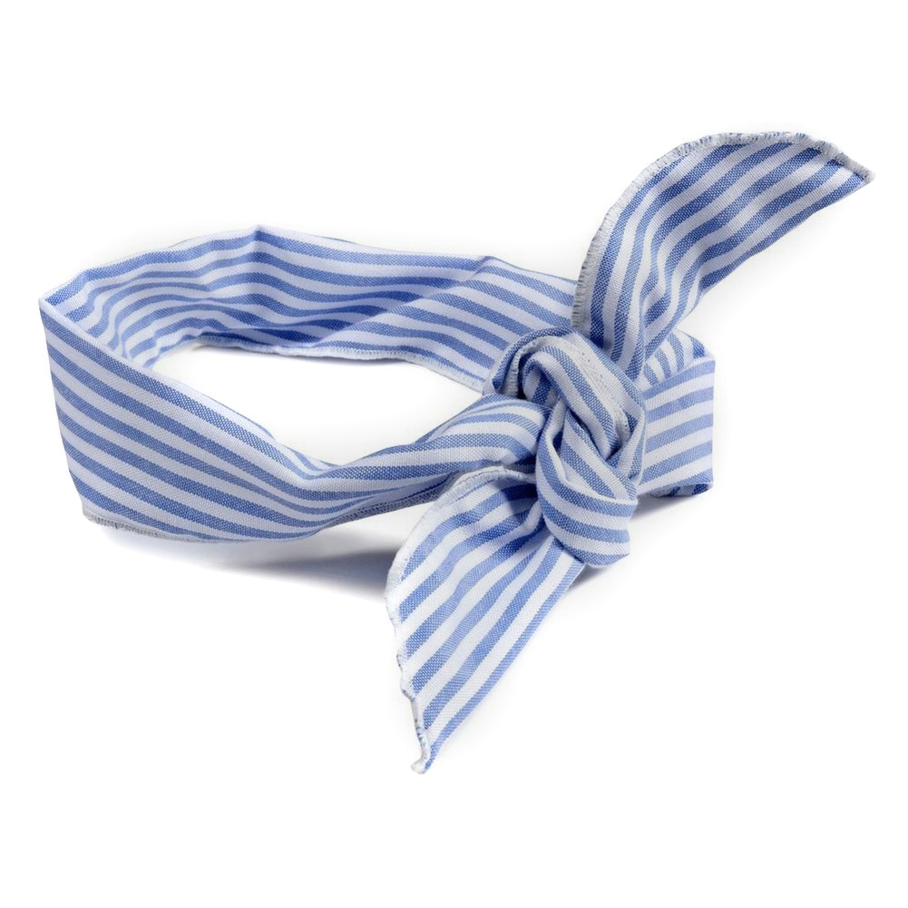 Hairwear Wired Ribbon Stripes Made With Cotton by JOE COOL