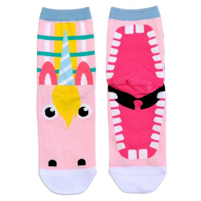 Socks Fairytale Creatures Unicorn Made With Cotton & Spandex by JOE COOL