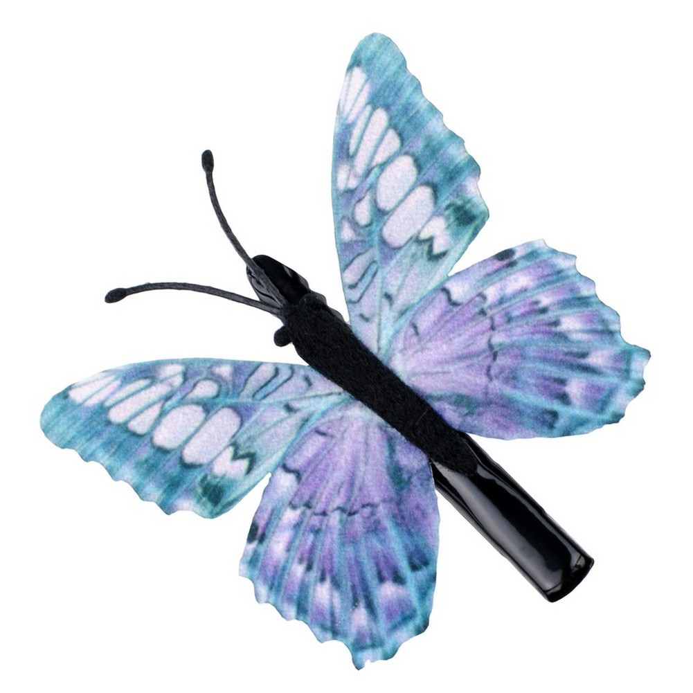 Hair Grip Butterfly Made With Zinc Alloy & Fabric by JOE COOL