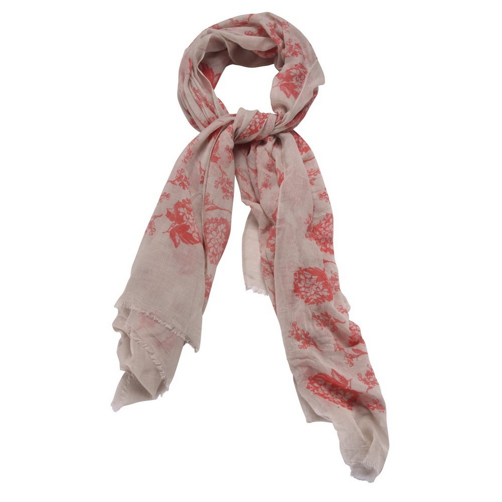 Scarf Floral Etching Made With Polyester & Cotton by JOE COOL