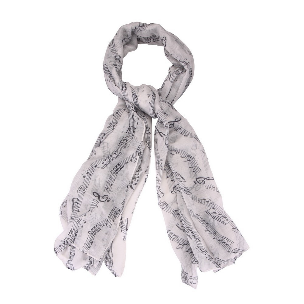 Scarf Melody Made With Polyester by JOE COOL